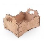 Дървена щайга - Великден