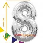 Сребърен балон - осем