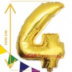 Златен балон - четири