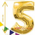 Златен балон - пет