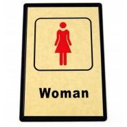 Табела с изображение на жена