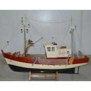Рибарски кораб - макет