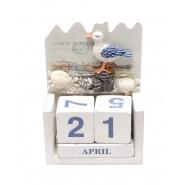 Вечен календар с чайка
