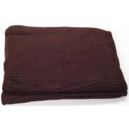 Кафяв зимен шал - бурка - снимка 1.