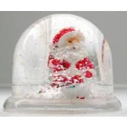 Коледно преспапие с Дядо Коледа и изкуствен сняг във вътрешността - снимка 1.
