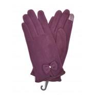 Дамски ръкавици с панделка