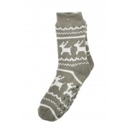 Мъжки, зимни чорапи - еленчета