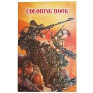 Книжка за оцветяване - войници и оръжия