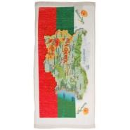 Кърпа с карта на България