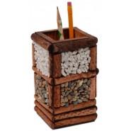 Дървена поставка за химикали