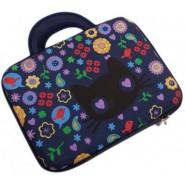 Чанта за лаптоп - цветя