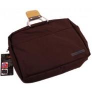 Чанта за лаптоп - тъмно кафява