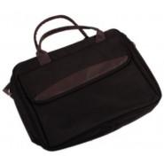 Чанта за лаптоп - тъмно кафяв