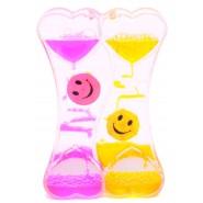 Декоративен часовник с флуид
