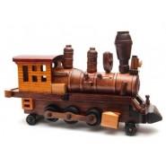 Дървен локомотив