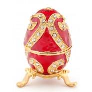 Кутийка за бижута яйце