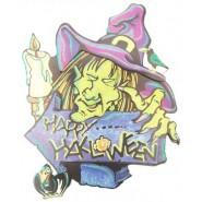 Хелоуински стикер