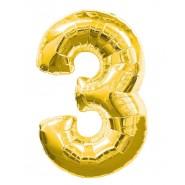 Златен балон - три