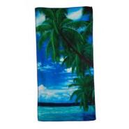 Плажна хавлия с палми