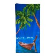 Хавлия - палма и лодки