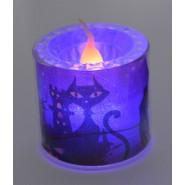 Хелоуинска свещ