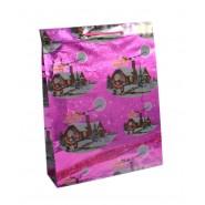 Лъскава подаръчна торбичка