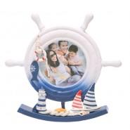 Рамка за снимки -  лодки, мидички, рибка, фар