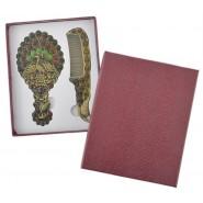 Подаръчен комплект - гребен и огледало