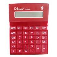 Червен настолен калкулатор