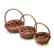 Плетени кошници 3в1