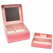 Кутия за бижута с огледало