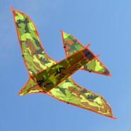 Хвърчило камуфлажен самолет