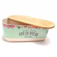 Кутия за хляб с капак дъска за рязане