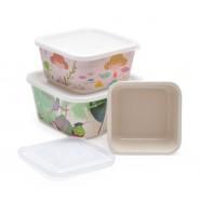 Еко кутии за храна - 3 бр