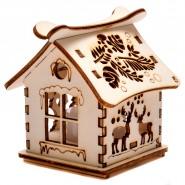 Дървена_ къщичка
