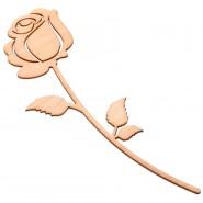 Дървена роза
