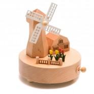 Музикална кутия с вятърна мелница