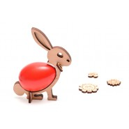 Великденско зайче - поставка за яйце