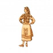 Мома в народна носия