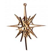 3D звезда за украса - 2бр