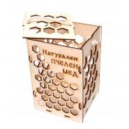 Кутия за буркан мед