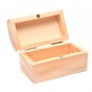 Дървена кутия 15х11х8 см