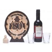 Дървена бъклица - Честит юбилей 80 г