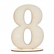 Комплект 3 бр заготовки - цифра 8