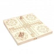 Дървена комбинирана игра 4 в 1
