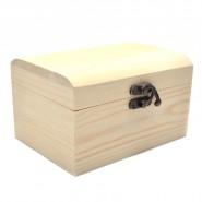 Дървена кутия 15х11х8см