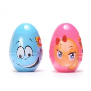 Яйце с изненада и натурален моделин