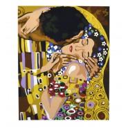 Картина по номера - Целувката, 40х50см