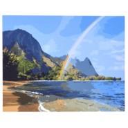 Рисуване по номера - Плаж, 40х50см