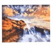 Рисуване по номера - Водопад, 40х50см